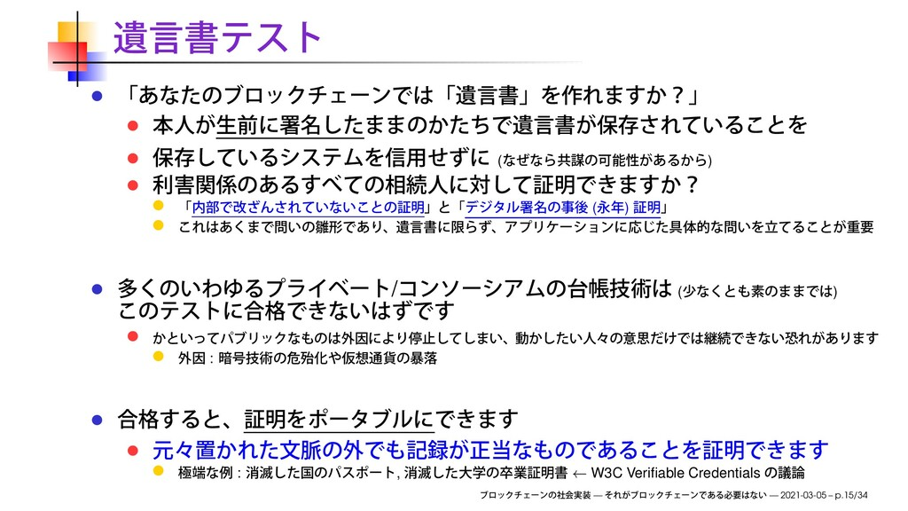 ( ) ( ) / ( ) : : , ← W3C Verifiable Credentials...