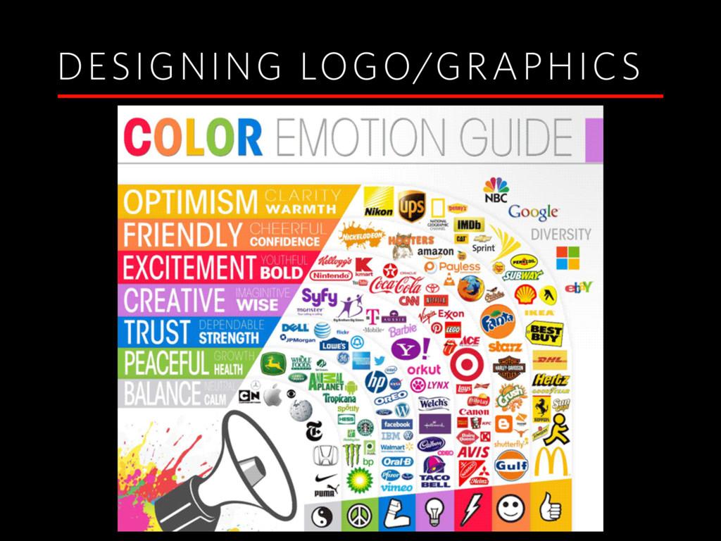 DESIGNING LOGO/GRAPHICS