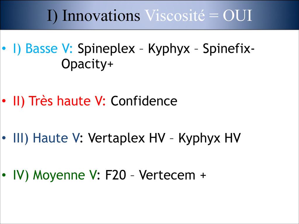 • I) Basse V: Spineplex – Kyphyx – Spinefix- Op...