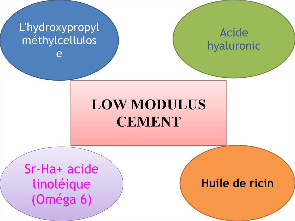 L'hydroxypropyl méthylcellulos e Sr-Ha+ acide l...