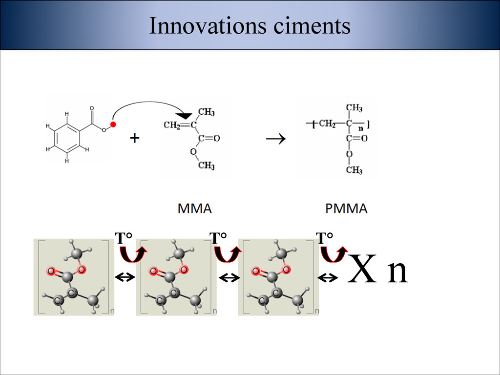 X n Innovations ciments T° T° T°