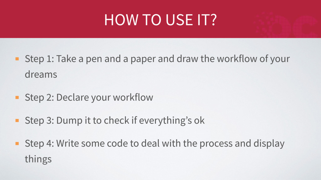 HOW TO USE IT? Step 1: Take a pen and a paper a...