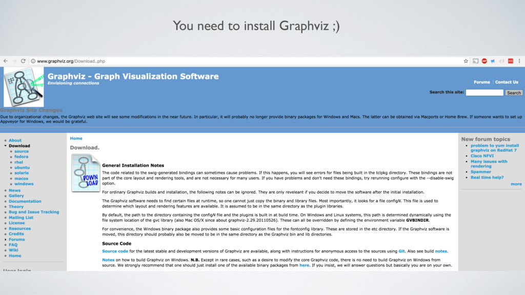 You need to install Graphviz ;)