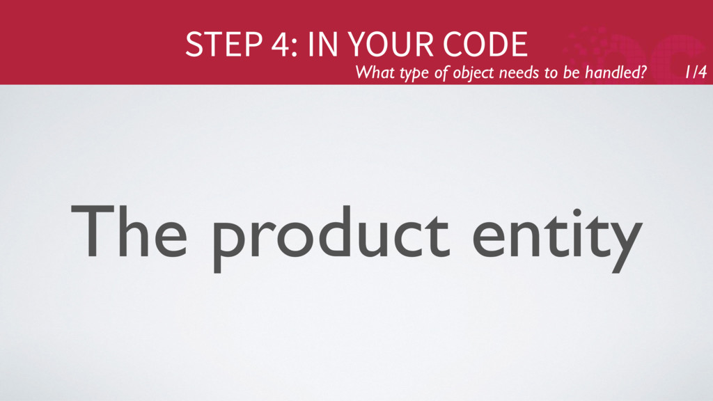 STEP 4: IN YOUR CODE What type of object needs ...