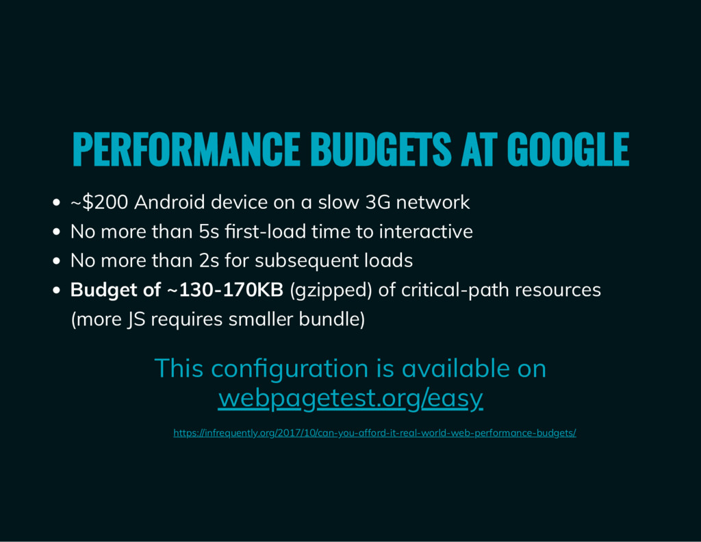 ~$200 Android device on a slow 3G network No mo...