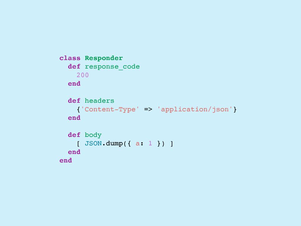 class Responder def response_code 200 end def h...