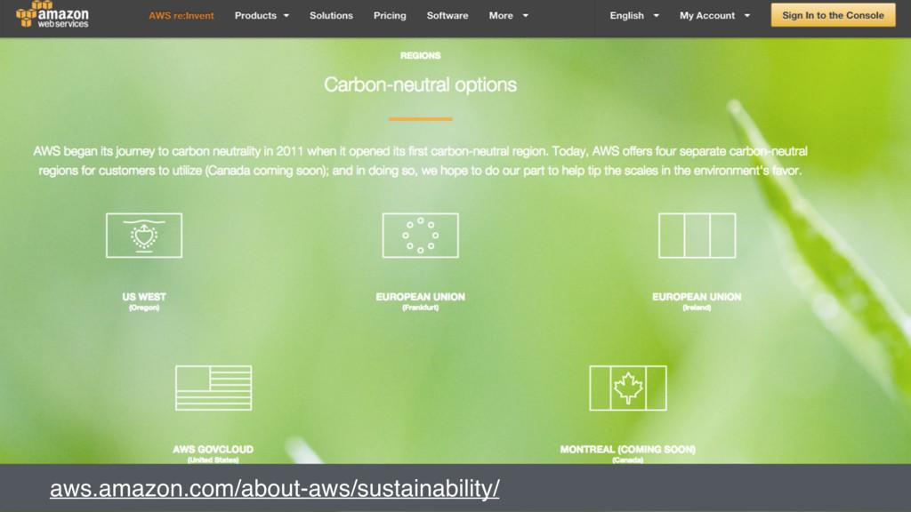 aws.amazon.com/about-aws/sustainability/