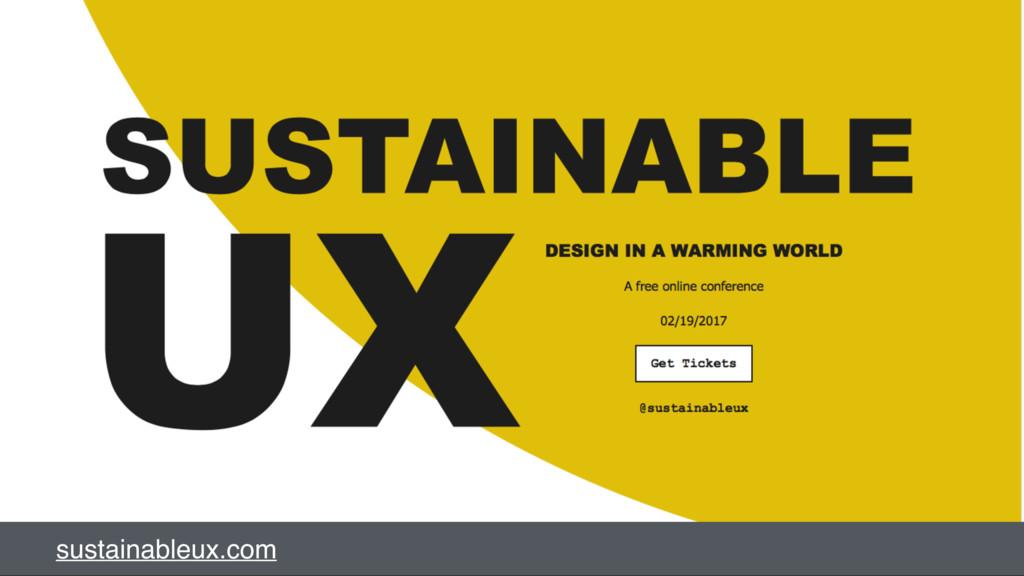 sustainableux.com