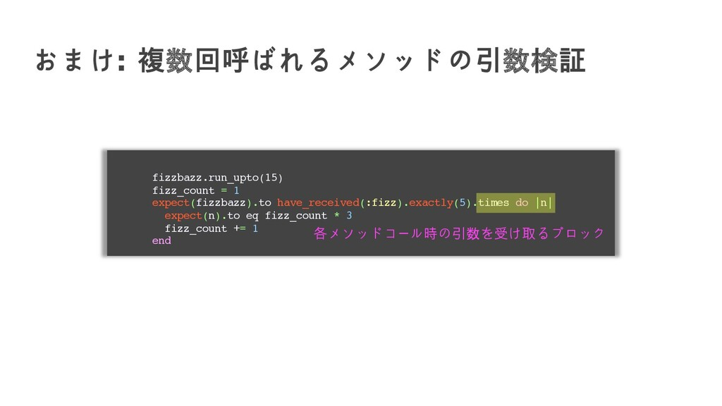 fizzbazz.run_upto(15) fizz_count = 1 expect(fiz...