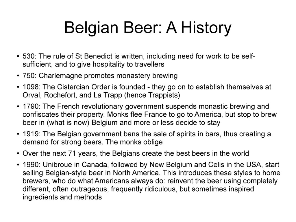 Belgian Beer: A History ● 530: The rule of St B...