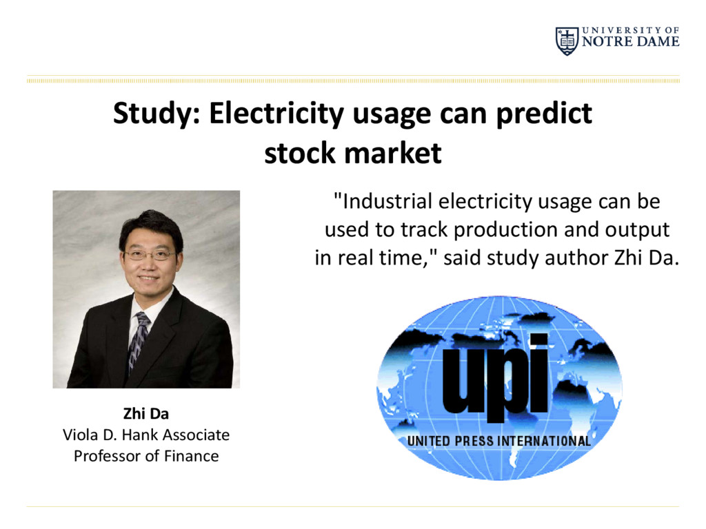 """Industrial electricity usage can be used to tr..."