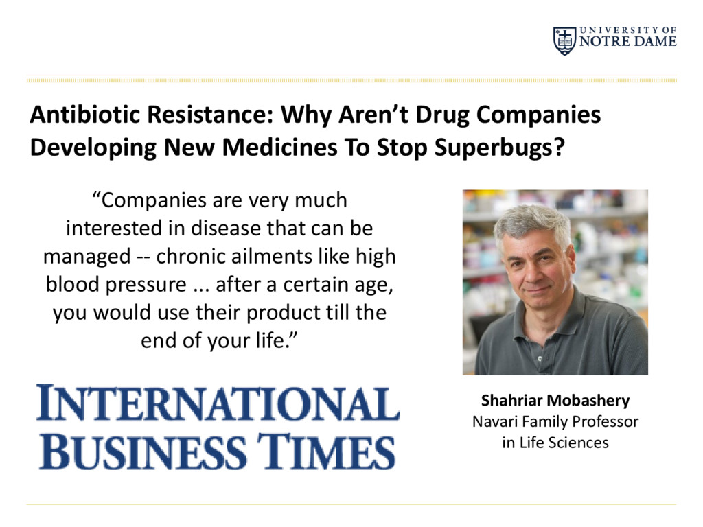 Antibiotic Resistance: Why Aren't Drug Companie...
