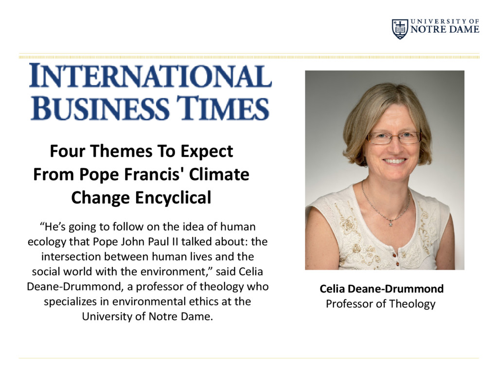 Celia Deane-Drummond Professor of Theology Four...
