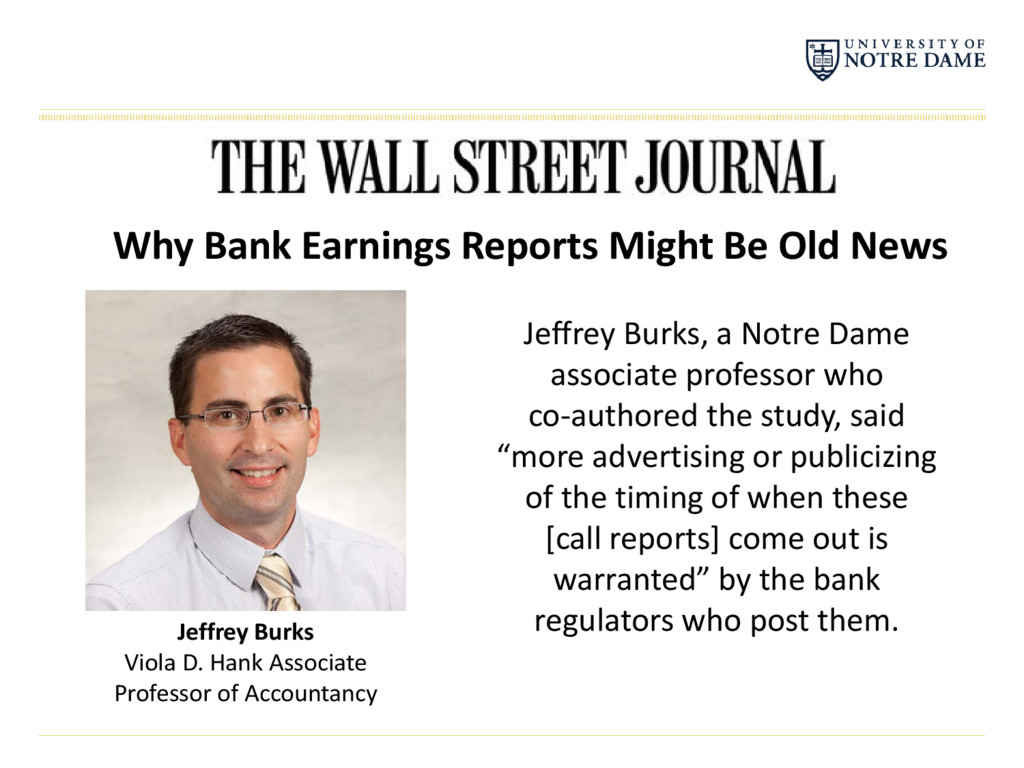 Why Bank Earnings Reports Might Be Old News Jef...