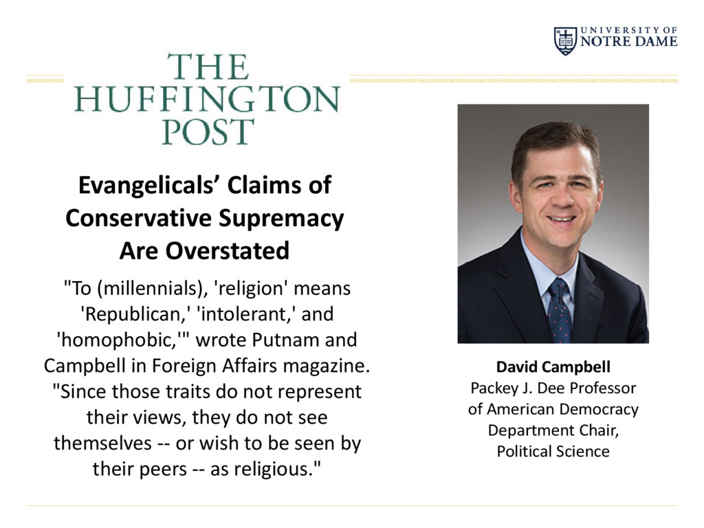 Evangelicals' Claims of Conservative Supremacy ...