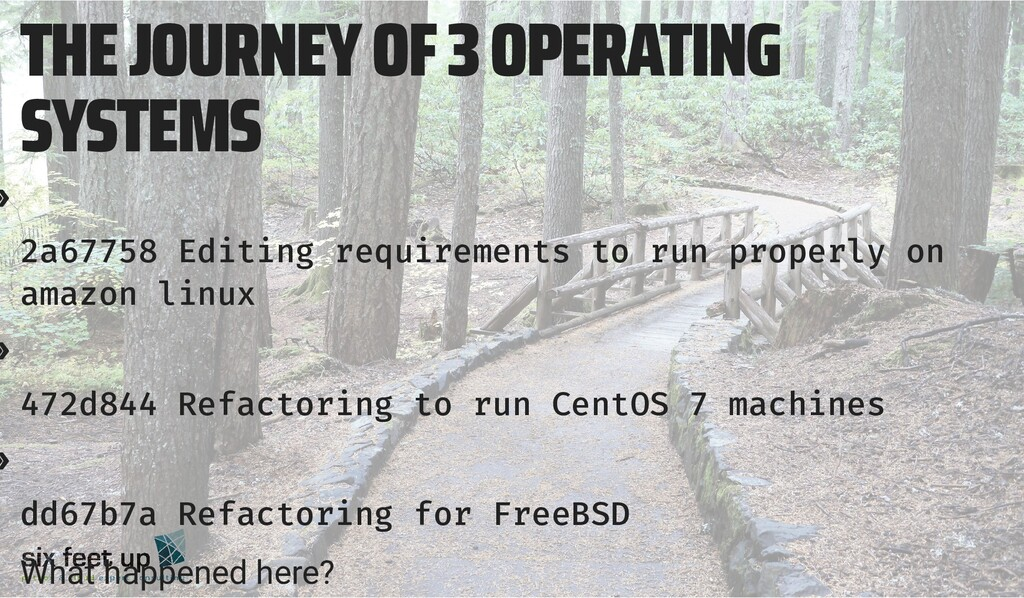 THE JOURNEY OF 3 OPERATING SYSTEMS » 2a67758 Ed...
