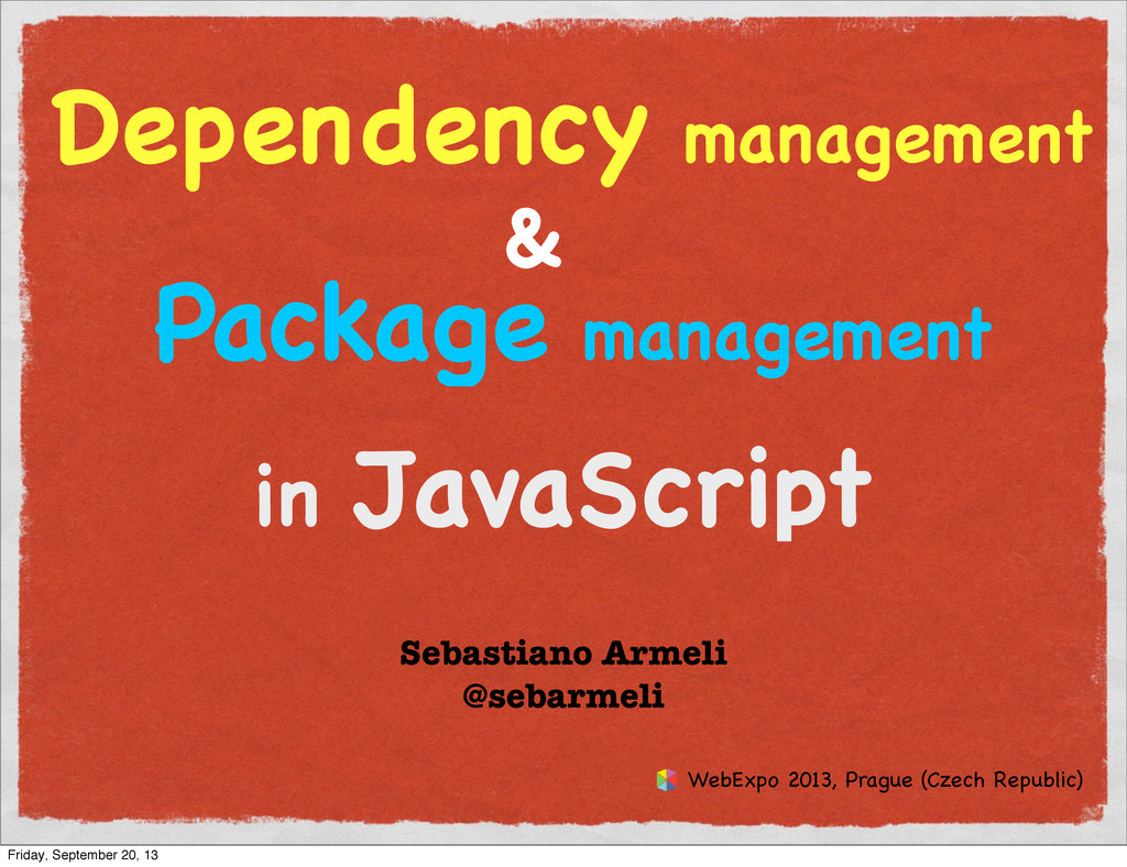 Dependency management & Package management in J...