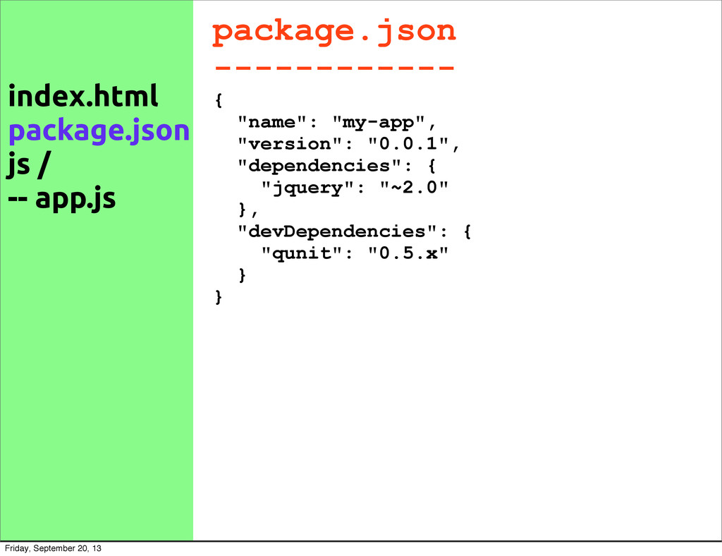 "package.json ------------ { ""name"": ""my-app"", ""..."