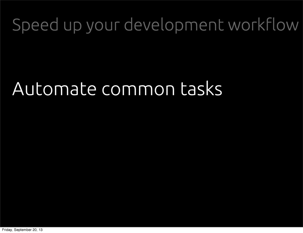 "Speed up your development work""ow Automate comm..."