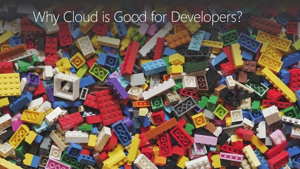 Why Cloud is Good for Developers?