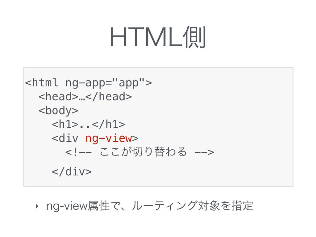 ")5.-ଆ ‣ OHWJFXଐੑͰɺϧʔςΟϯάରΛࢦఆ <html ng-app=""ap..."