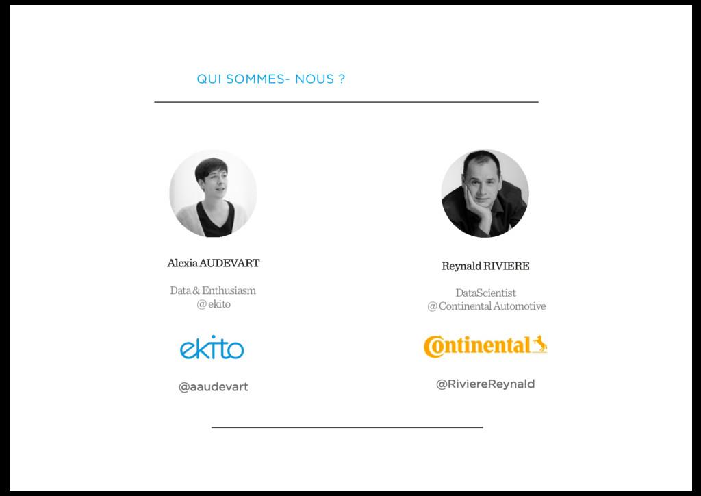 Alexia AUDEVART Data & Enthusiasm @ ekito @aaud...
