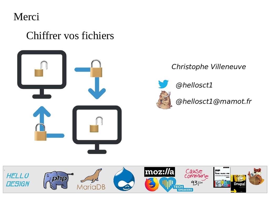 Merci @hellosct1 @hellosct1@mamot.fr Christophe...