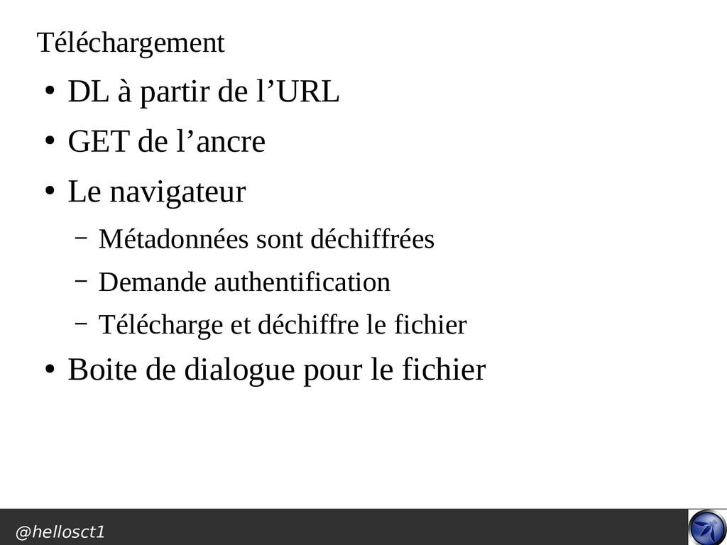 @hellosct1 Téléchargement ● DL à partir de l'UR...