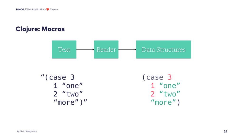 Clojure: Macros 24 Web Applications ❤ Clojure J...
