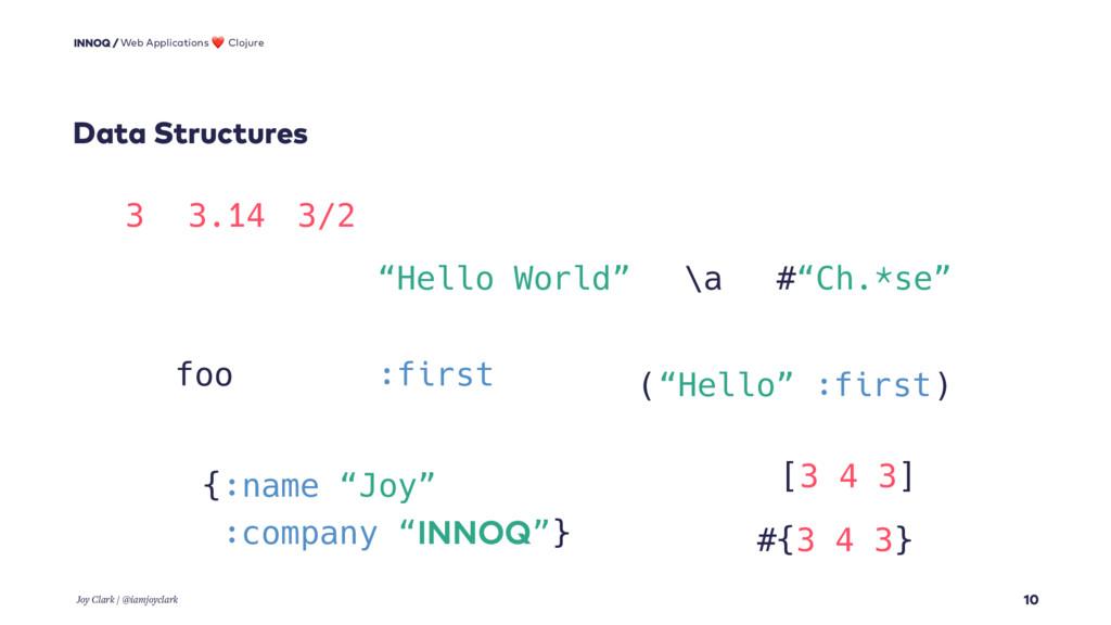 Data Structures 10 Web Applications ❤ Clojure J...