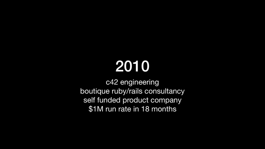 2010 c42 engineering  boutique ruby/rails consu...