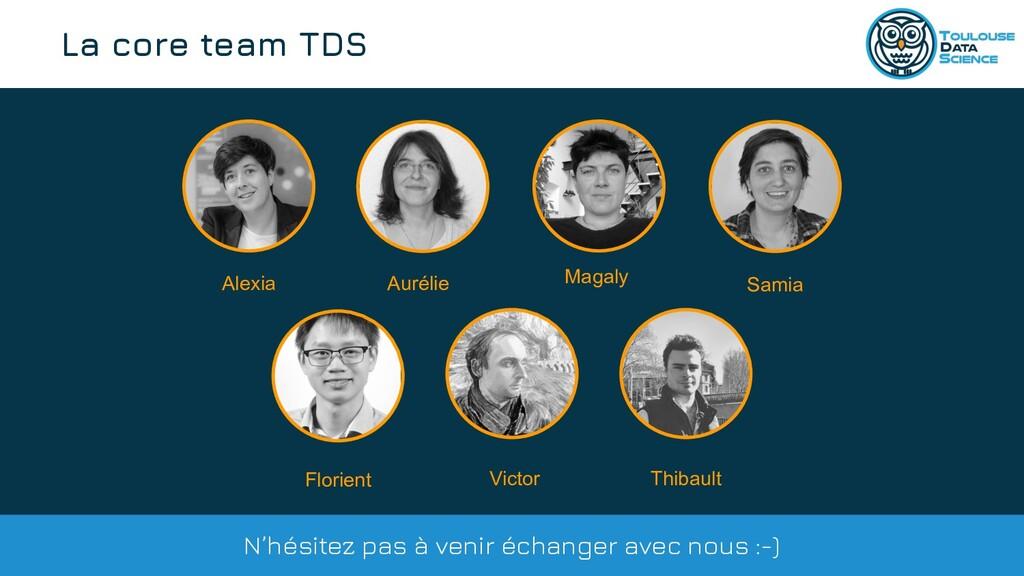 @tlse_dasci La core team TDS Alexia Aurélie Vic...