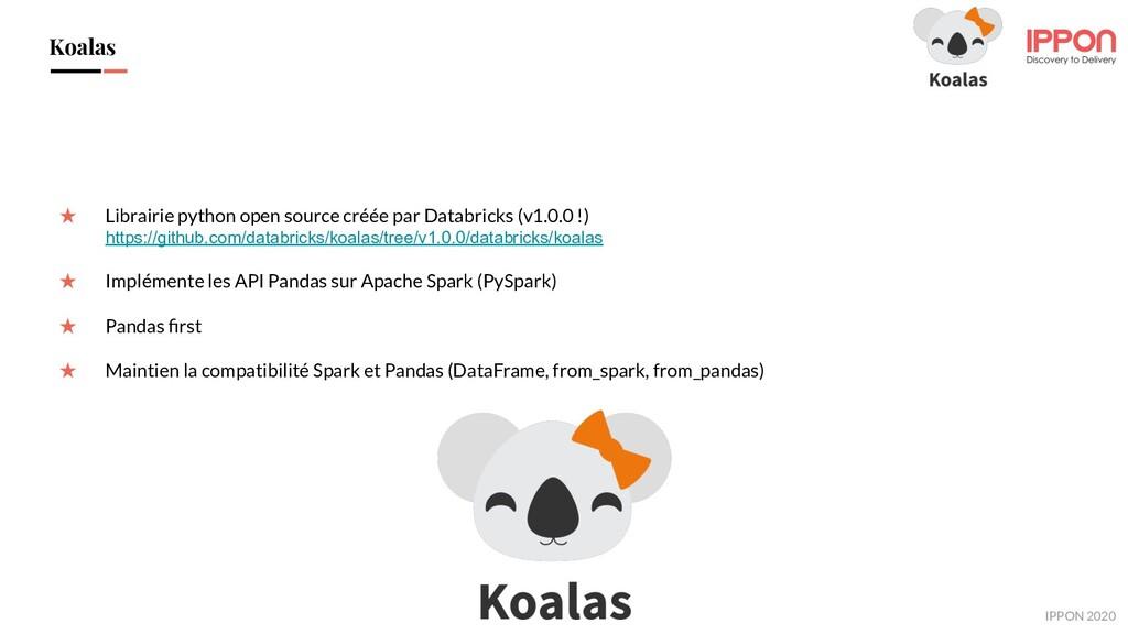 IPPON 2019 Koalas ★ Librairie python open sourc...