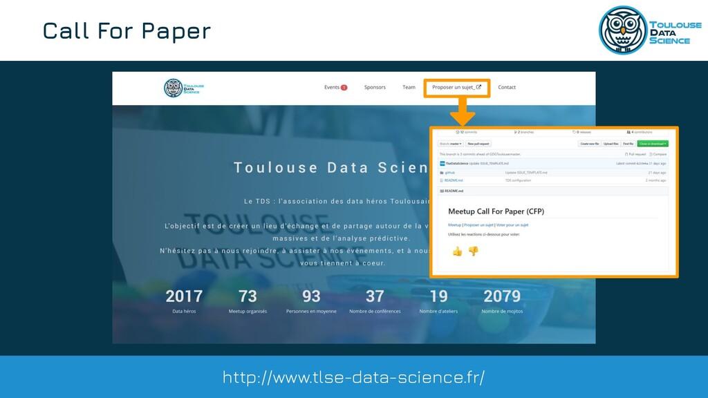 @tlse_dasci Call For Paper http://www.tlse-data...