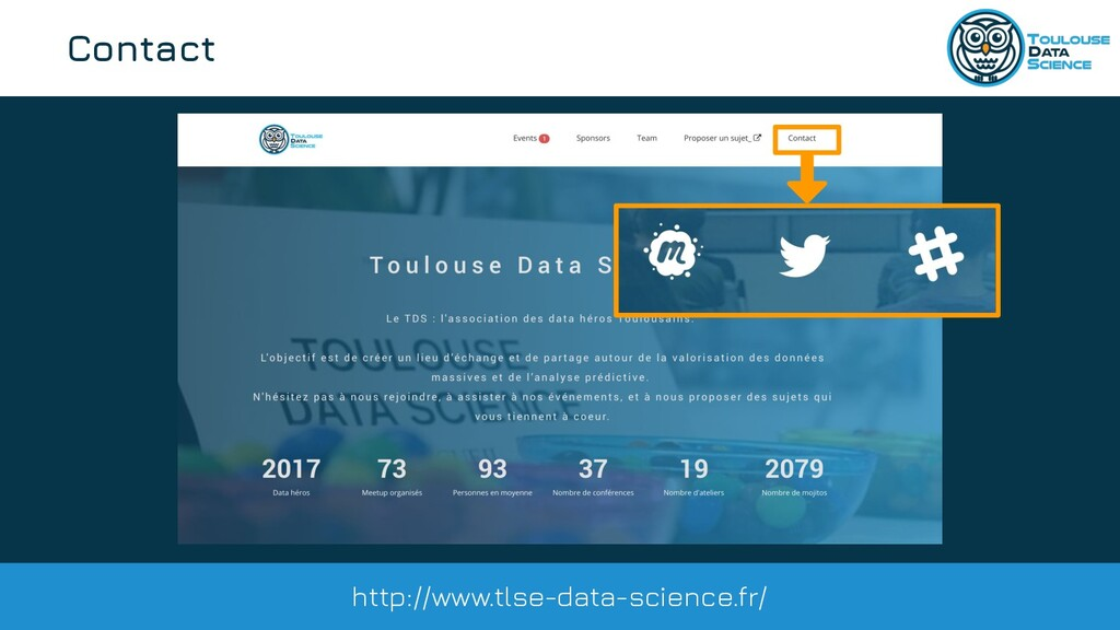 @tlse_dasci Contact http://www.tlse-data-scienc...