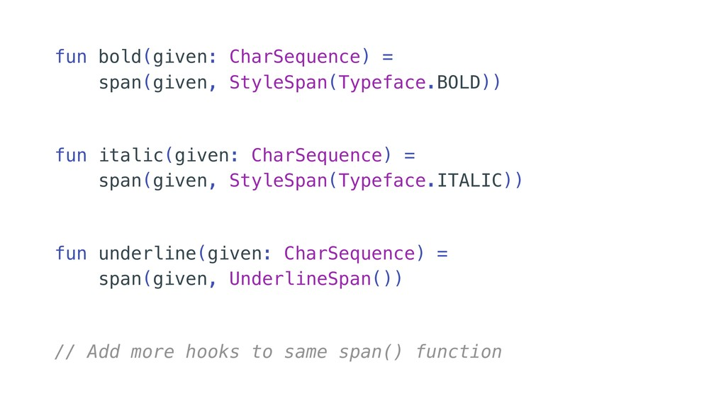 // Add more hooks to same span() function fun i...