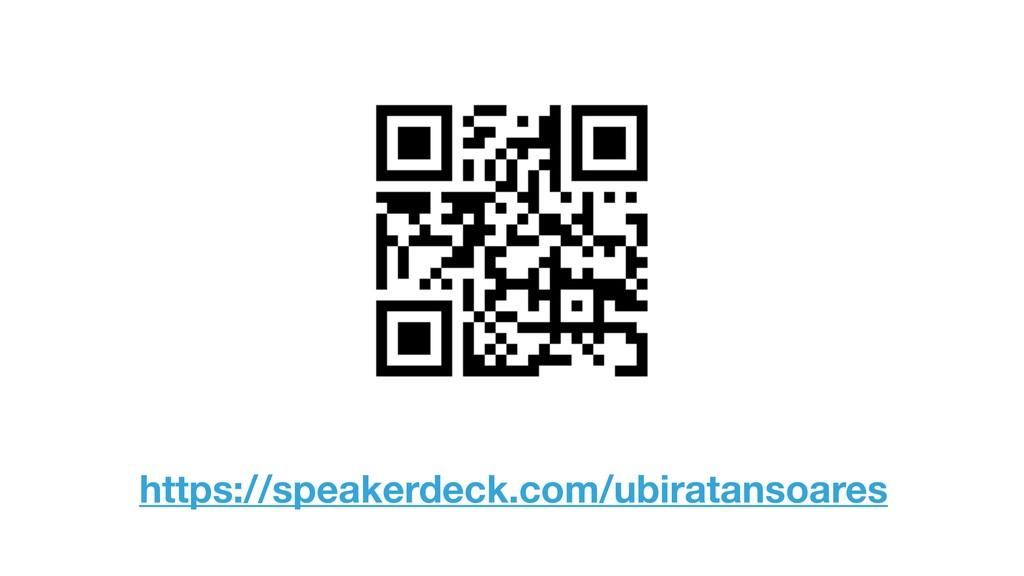 https://speakerdeck.com/ubiratansoares