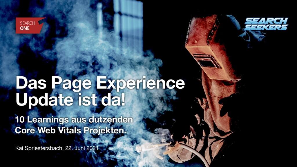 Kai Spriestersbach, 22. Juni 2021 Das Page Expe...