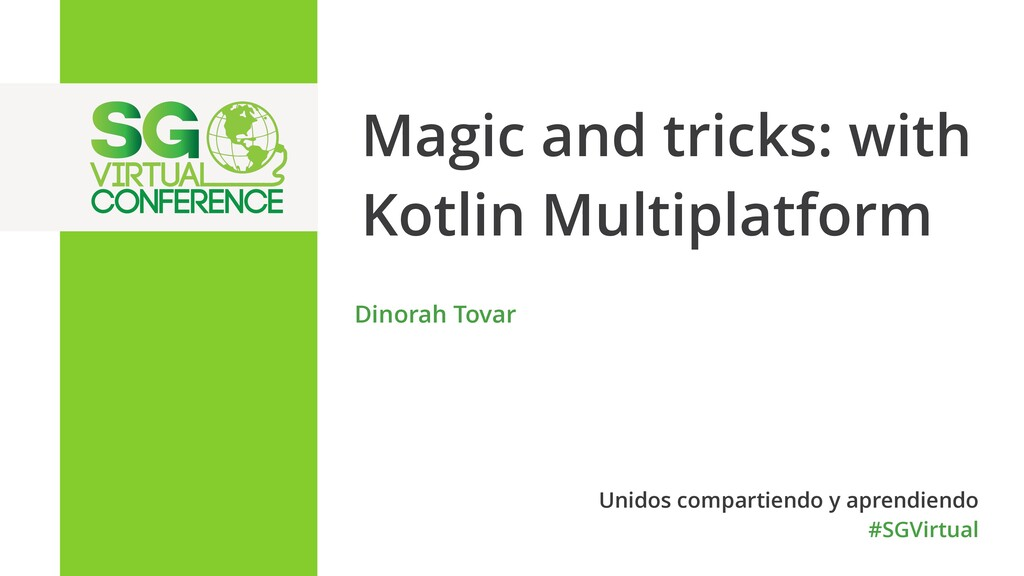 Magic and tricks: with Kotlin Multiplatform Din...