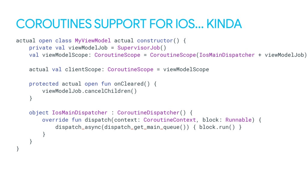 COROUTINES SUPPORT FOR IOS… KINDA actual open c...