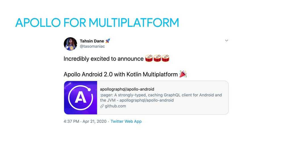 APOLLO FOR MULTIPLATFORM