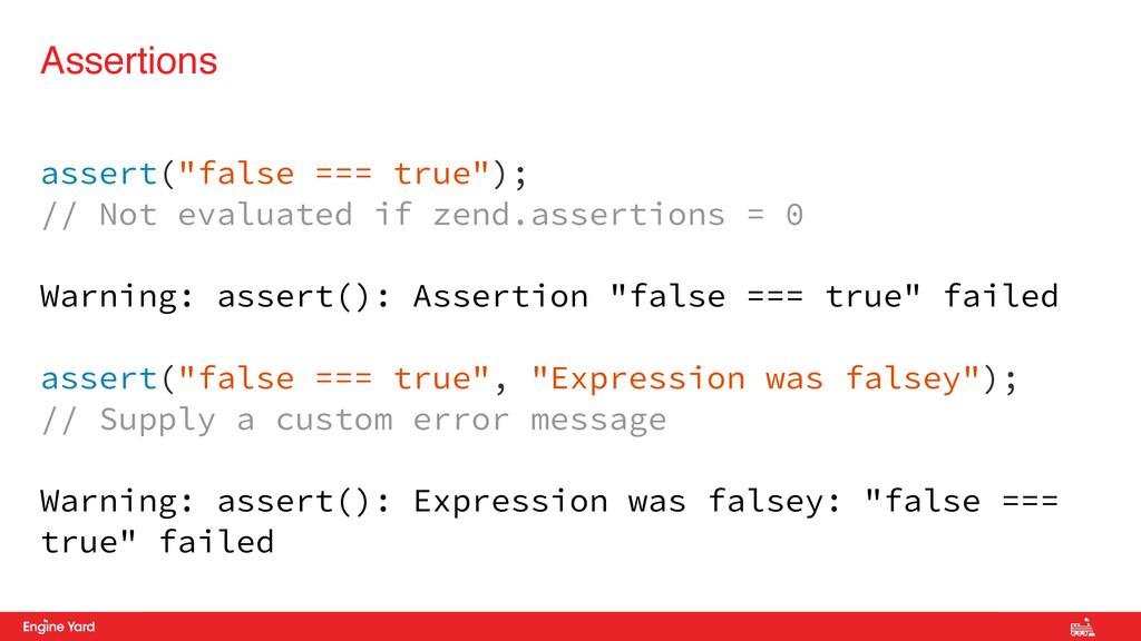 """Proprietary and Confidential assert(""""false === ..."""