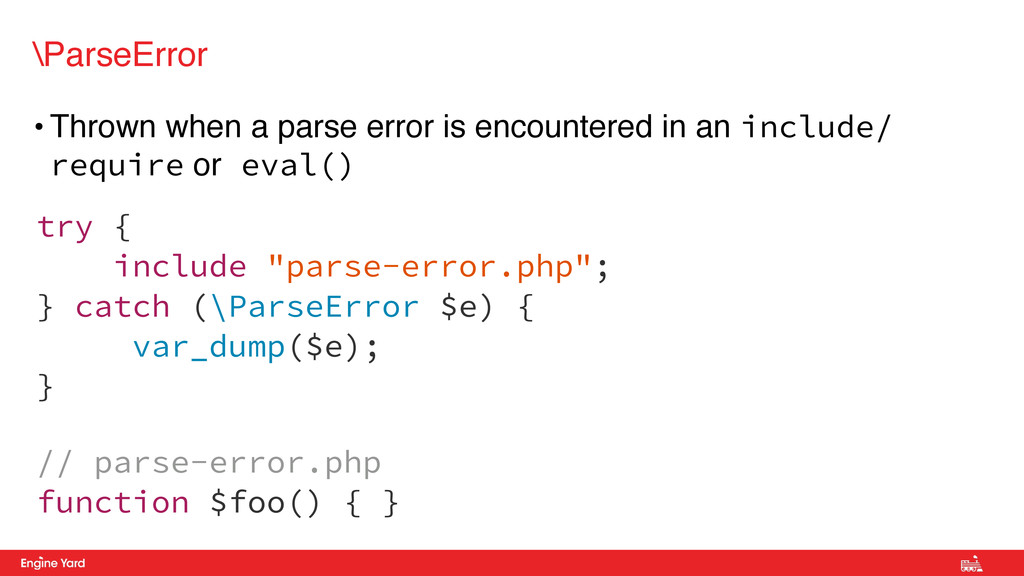 • Thrown when a parse error is encountered in a...