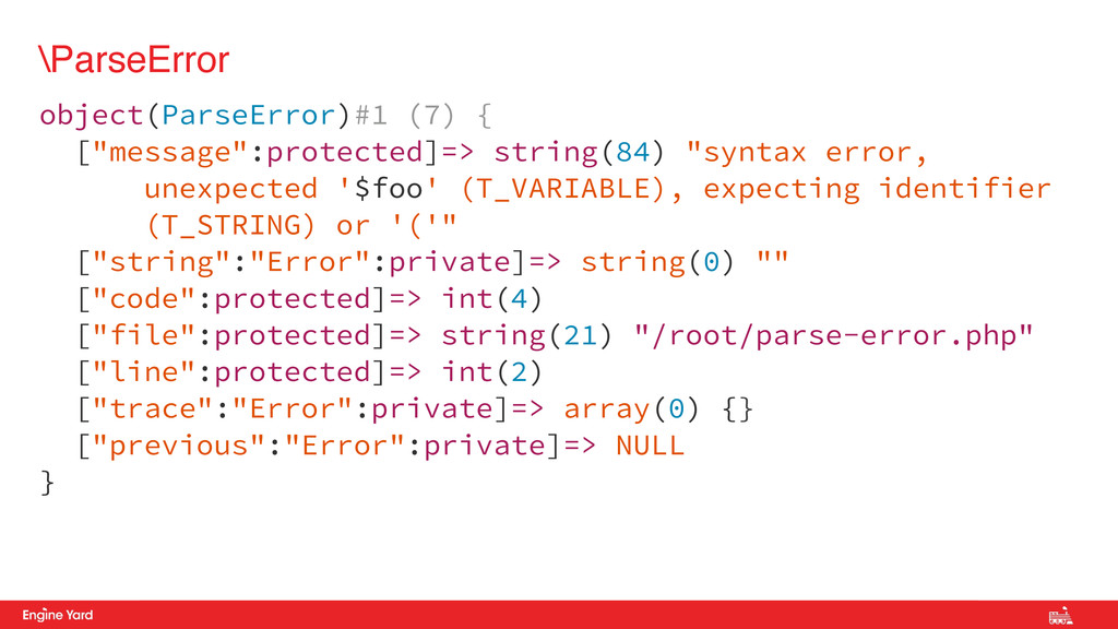 Proprietary and Confidential \ParseError object...