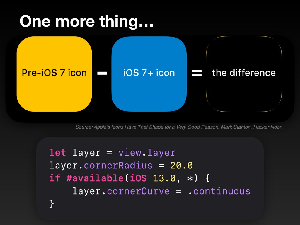 One more thing… Source: Apple's Icons Have That...
