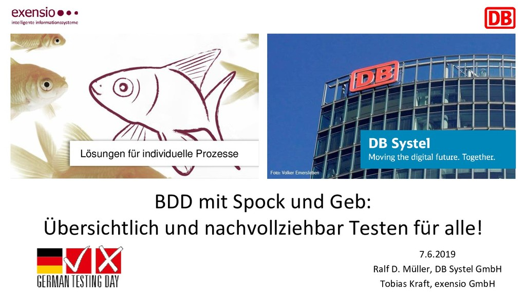 Lösungen für individuelle Prozesse BDD mit Spoc...
