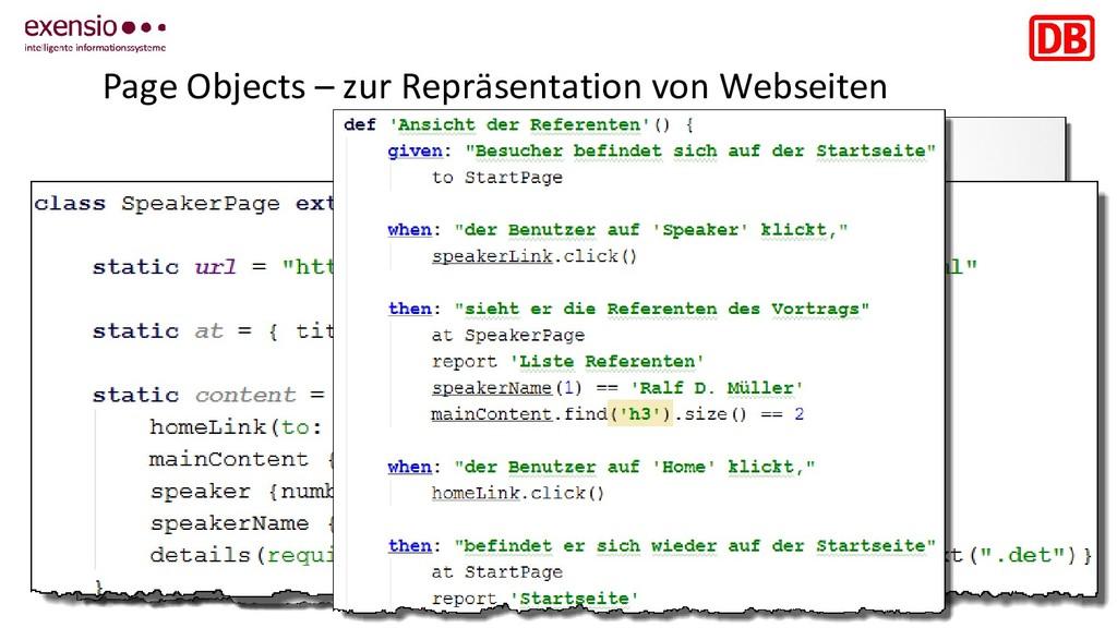 18 Page Objects – zur Repräsentation von Websei...