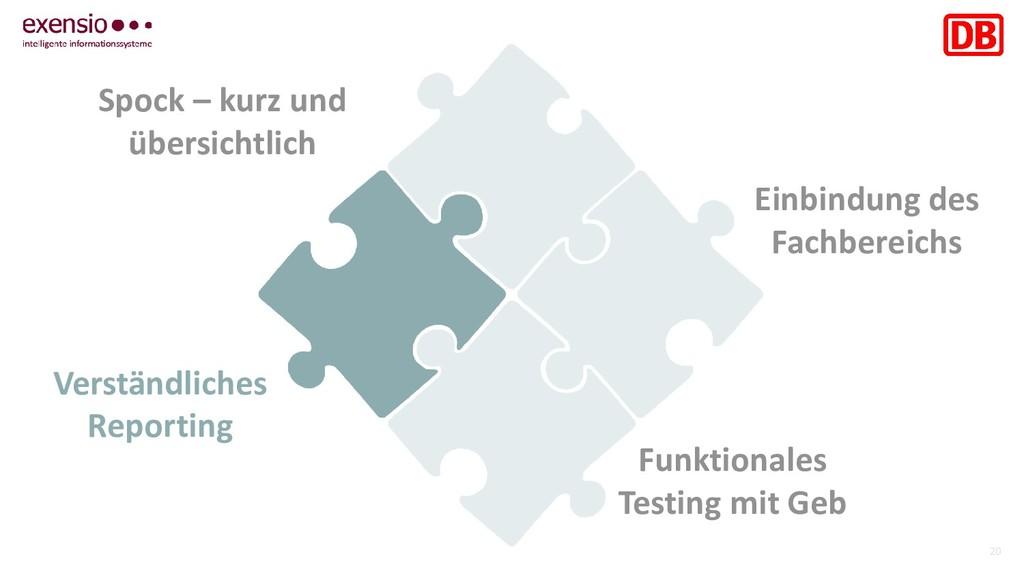 20 Funktionales Testing mit Geb Einbindung des ...