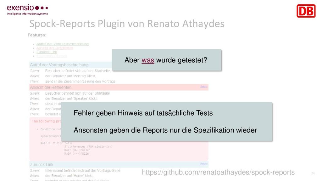 24 Spock-Reports Plugin von Renato Athaydes htt...