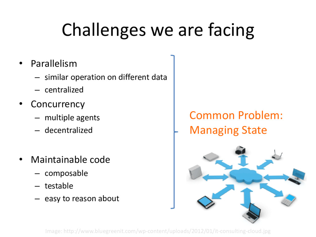 Challenges we are facing • Parallelism – simila...